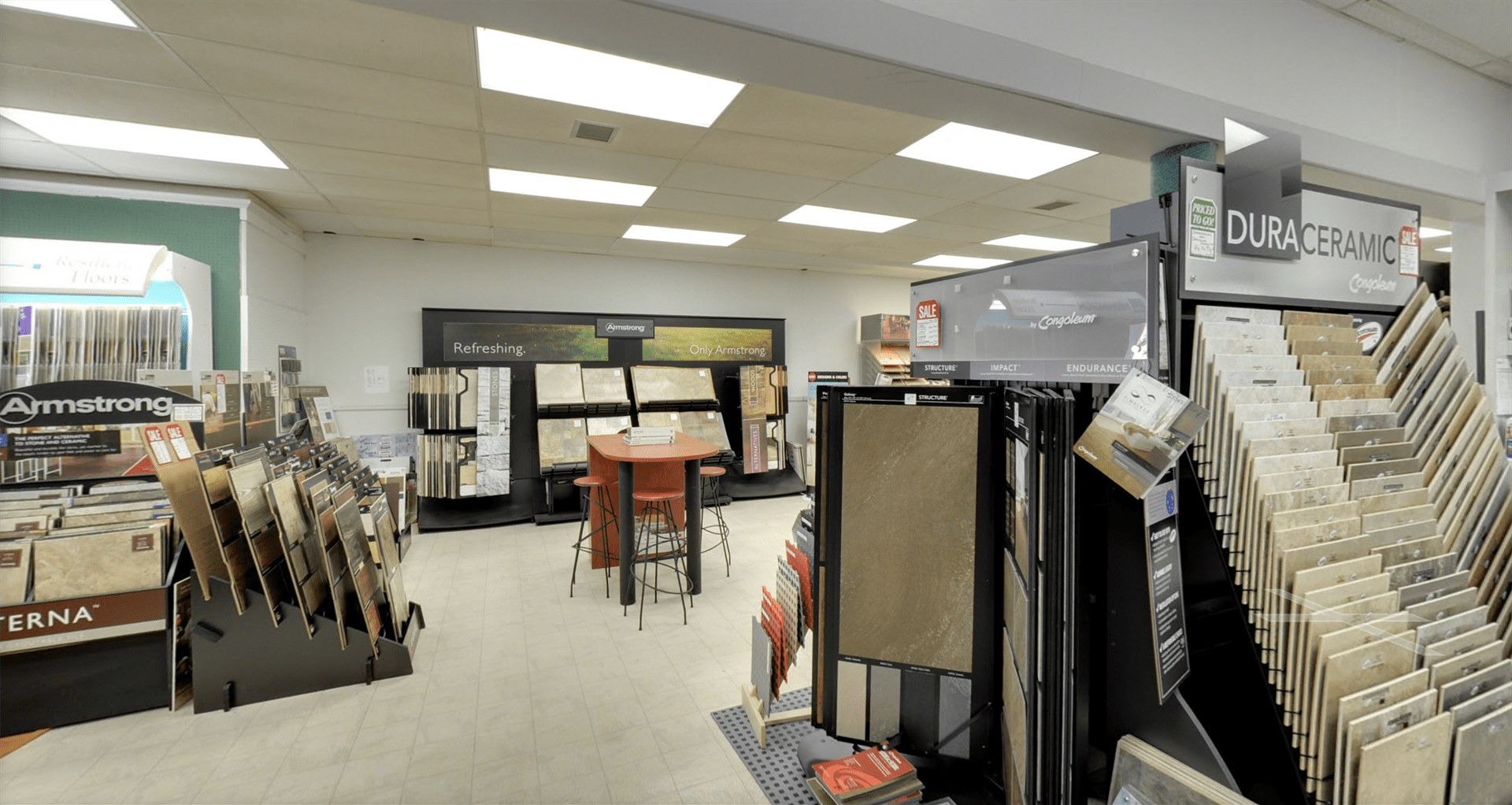 Floorcrafters - Moline showroom in Davenport, IA
